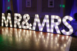 hire illuminated letters