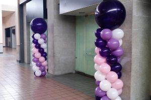Balloon column hire birmingham