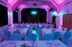 Hire lighting for wedding