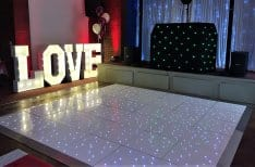 LED Dance Floor Hire Birmingham