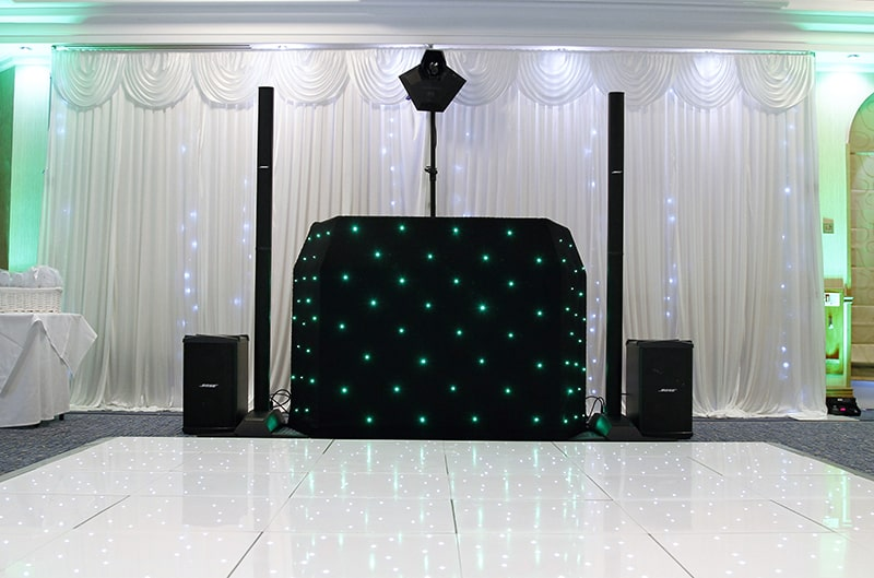 led backdrop hire Birmingham