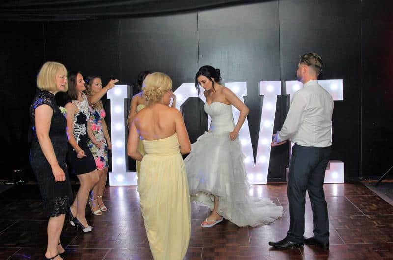 Mobile Disco in Rugby and love letters