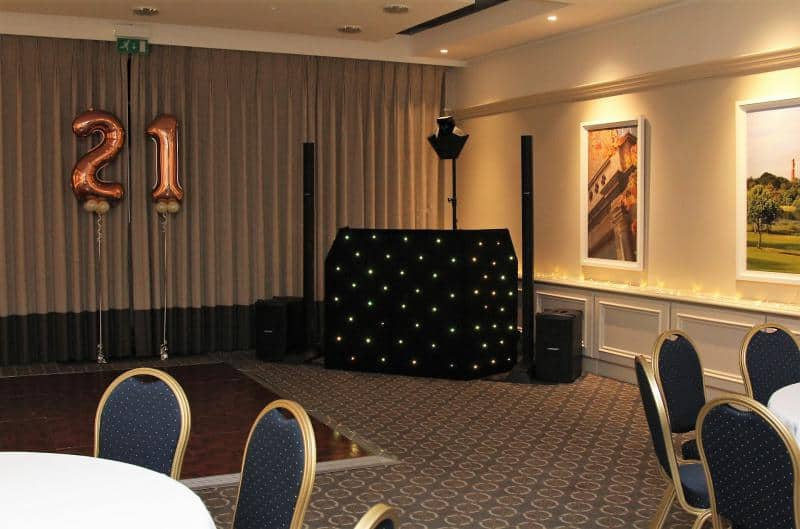 Mobile Dj In Edgbaston Golf Club