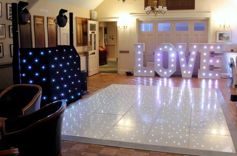 Mobile Disco at South Staffordshire Golf Club