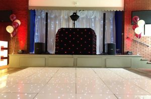 Mobile Disco With Dance floor