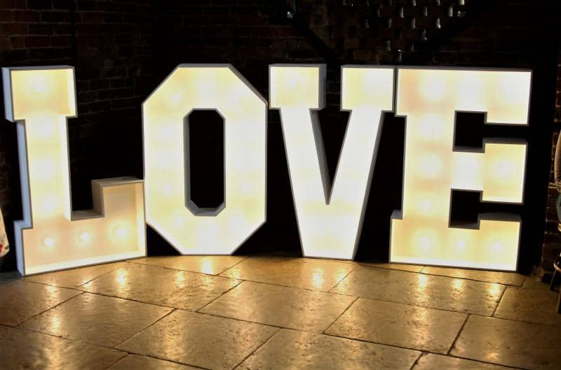 Mobile Disco in Bridgnorth with Love Letters