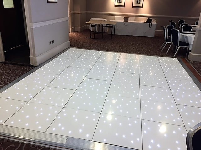 Quality White Led Dance floors In Wolverhampton
