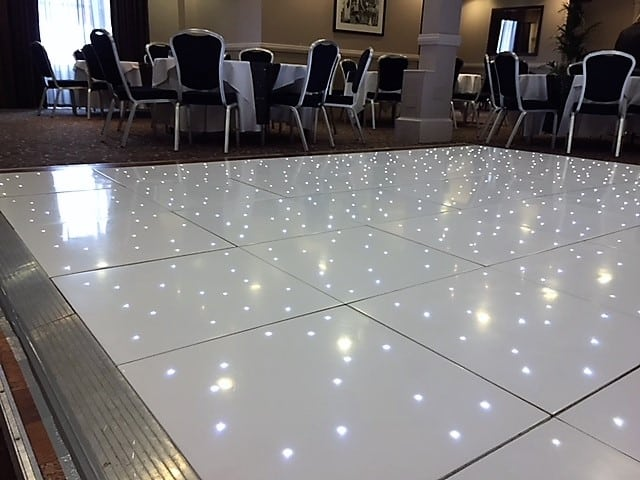 White Led Dance Floor Wolverhampton