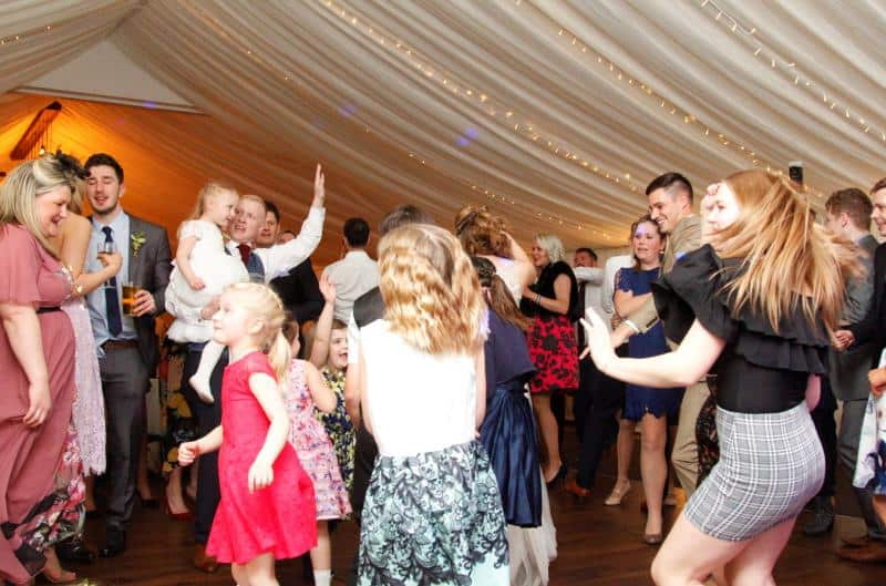 Mobile Disco In Matlock with a busy Dance floor