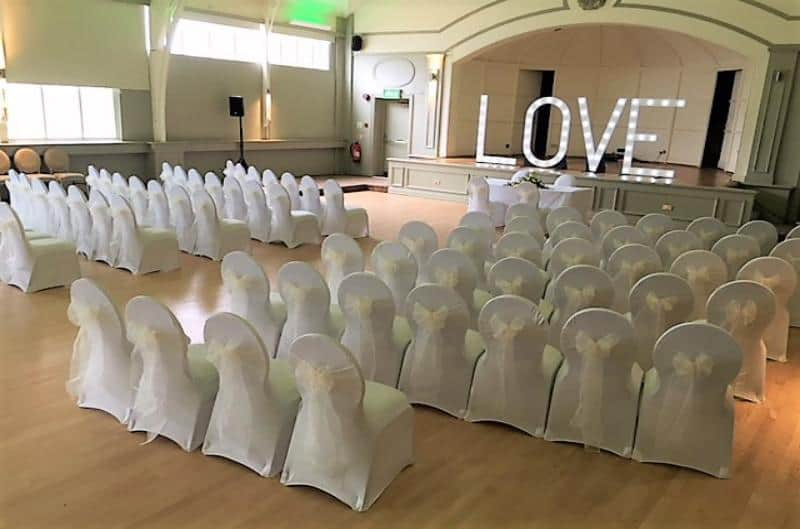 White Chair Cover Hire in Birmingham