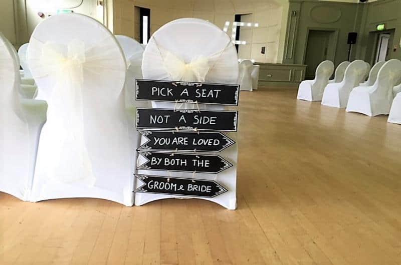 Wedding Wedding Chair cover in Birmingham
