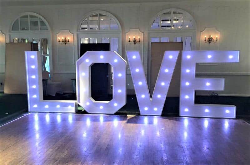 Extra large Led Letters