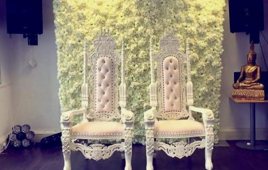 King and Queen Wedding Thrones