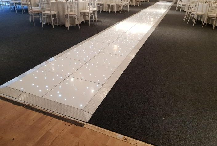 White led Walkway